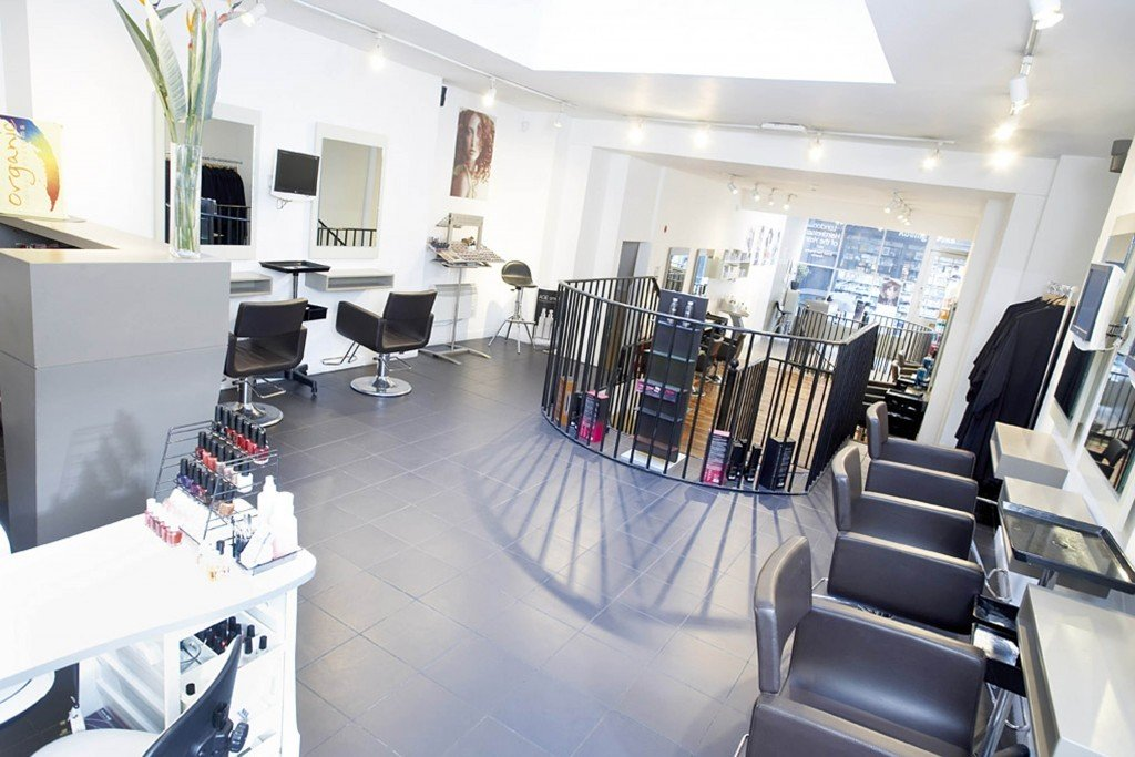 karine jackson salon interior