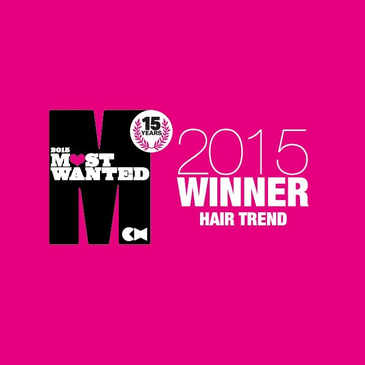 KARINE JACKSON WINS MOST WANTED HAIR TREND AWARD