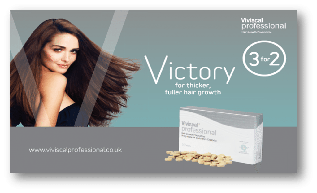 viviscal professional hair products for thicker hair, Covent Garden hair & beauty salon