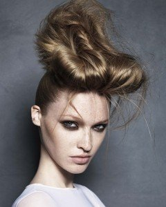cool upstyles at karine jackson hair salon, covent garden