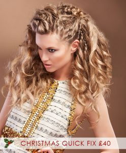 Christmas Hair Style Packages, Karine Jackson Hair & Beauty Salon, Covent Garden, London