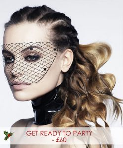 Christmas Hair & Make UP Packages, Covent Garden hair dressers