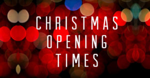 CHIRISTMAS OPENING TIMES 5