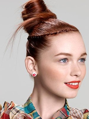 top-knot-with-plait